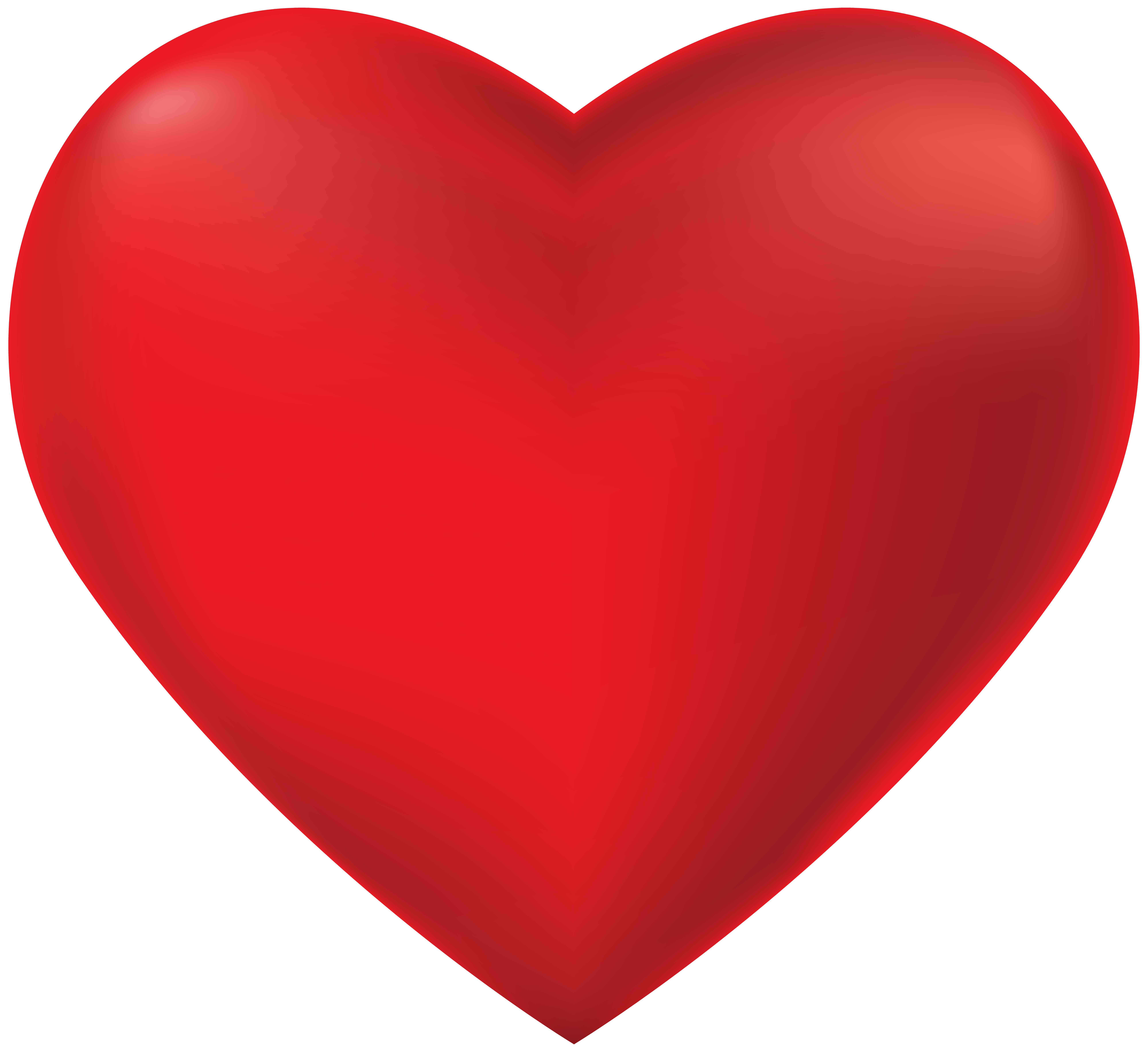 Clipart hesrt graphic free stock Red Heart Transparent PNG Clip Art | Gallery Yopriceville - High ... graphic free stock