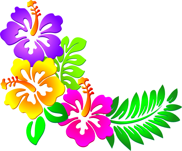 Hawaiian hibiscus flower clipart svg transparent library Best Hawaii Clip Art #6535 - Clipartion.com svg transparent library