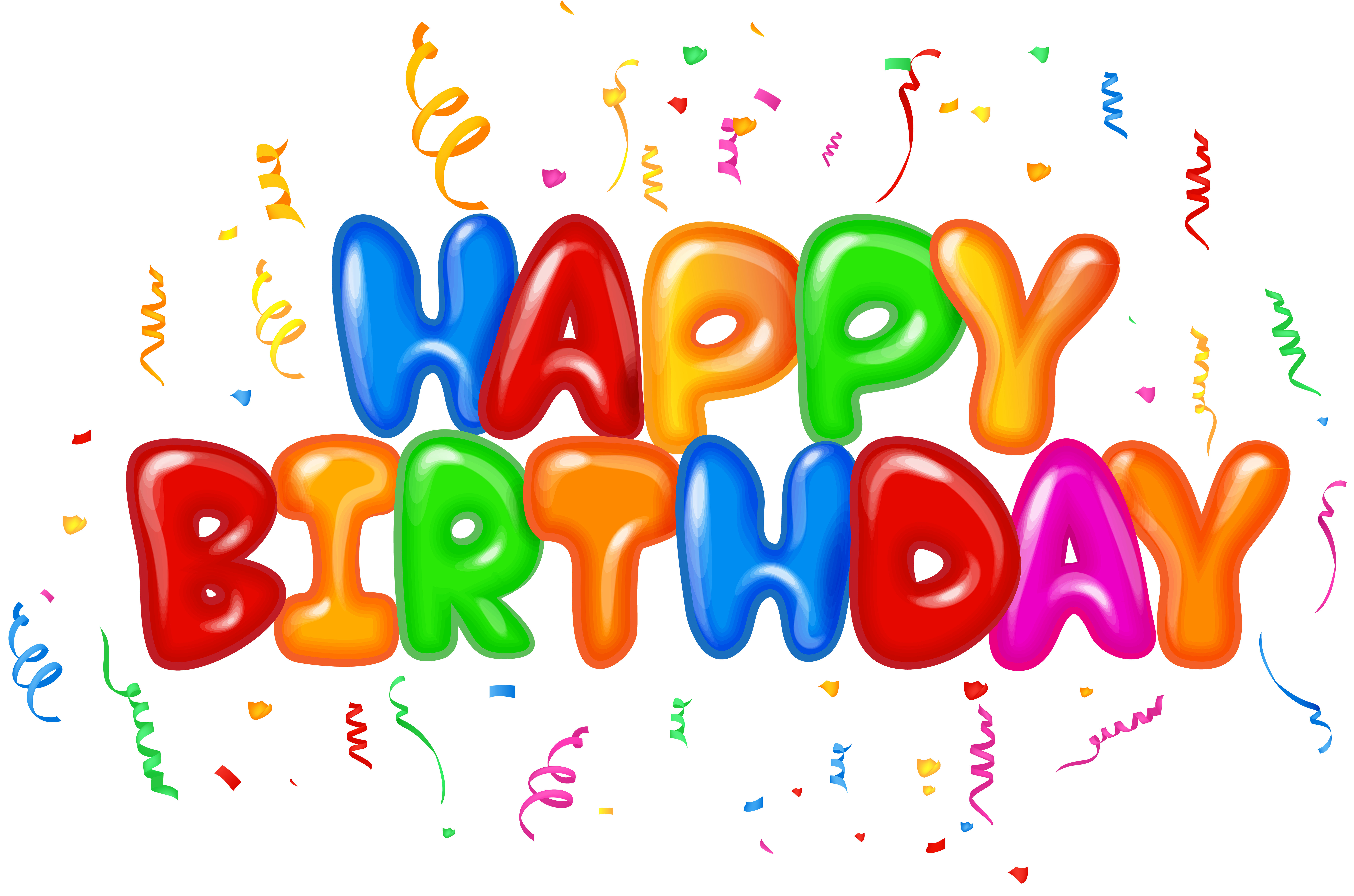 Clipart hd text svg royalty free Happy Birthday Text Decor PNG Clip Art Image | Gallery Yopriceville ... svg royalty free