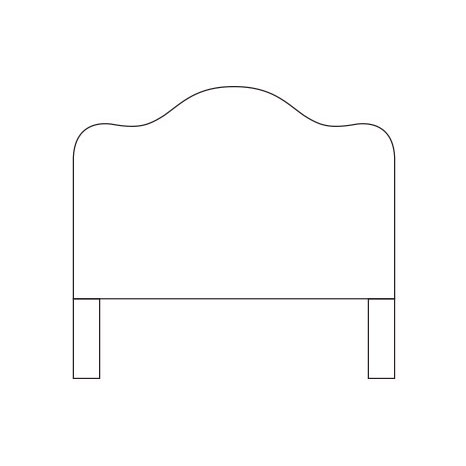 Clipart headboard svg freeuse library Beds & Headboards svg freeuse library