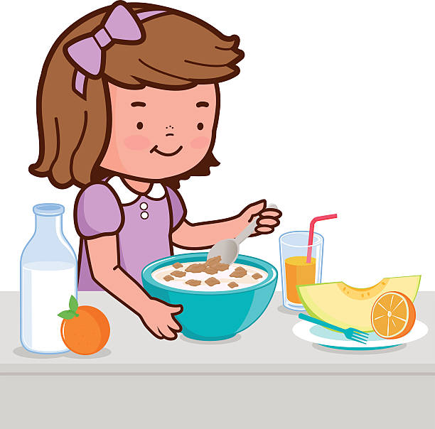 Clipart healthy breakfast clip art library stock Eating breakfast clipart 2 » Clipart Station clip art library stock