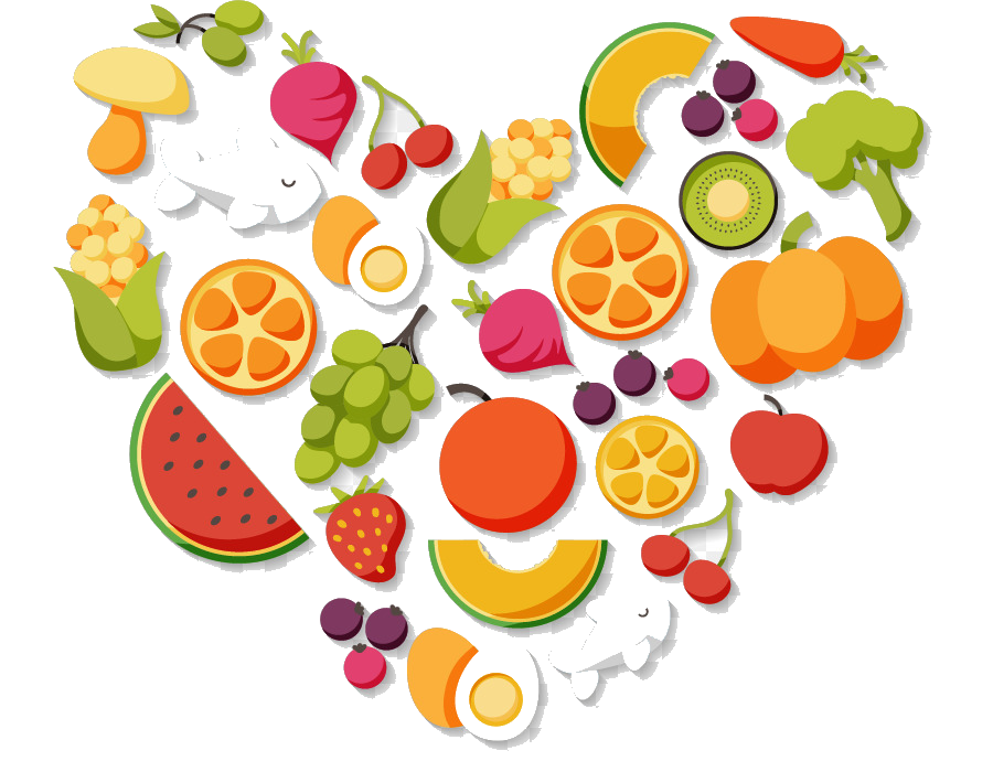 Clipart healthy diet graphic library library Healthy Food Health Diet Nutrition Clipart Transparent Png - AZPng graphic library library