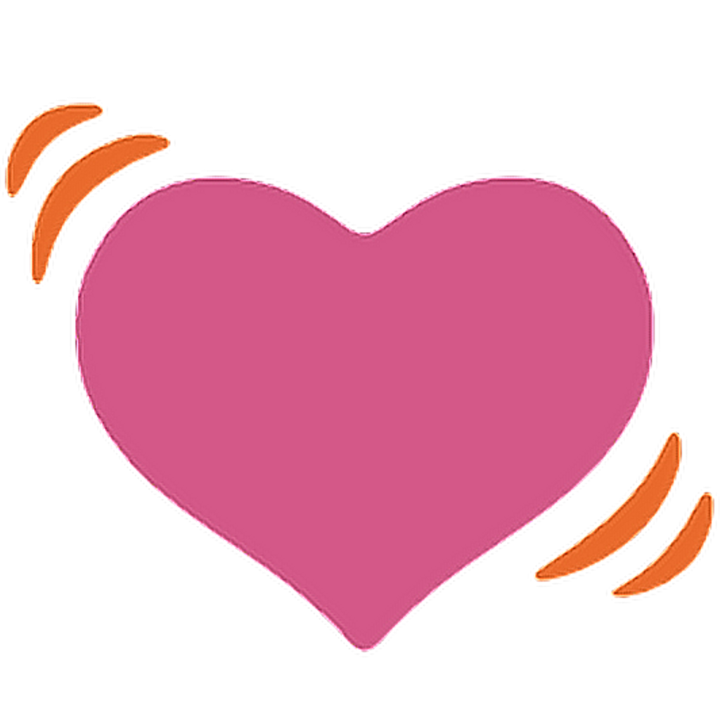 Heart with heartbeat clipart png royalty free ftestickers heart heartbeat love emoji... png royalty free