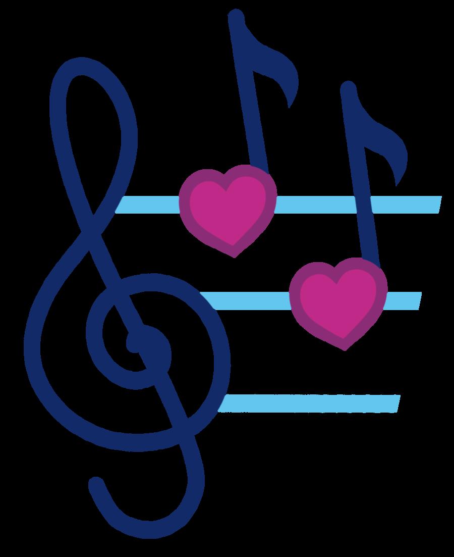 Heart beat clipart vector transparent stock Music Notes Heart Beat   Clipart Panda - Free Clipart Images vector transparent stock