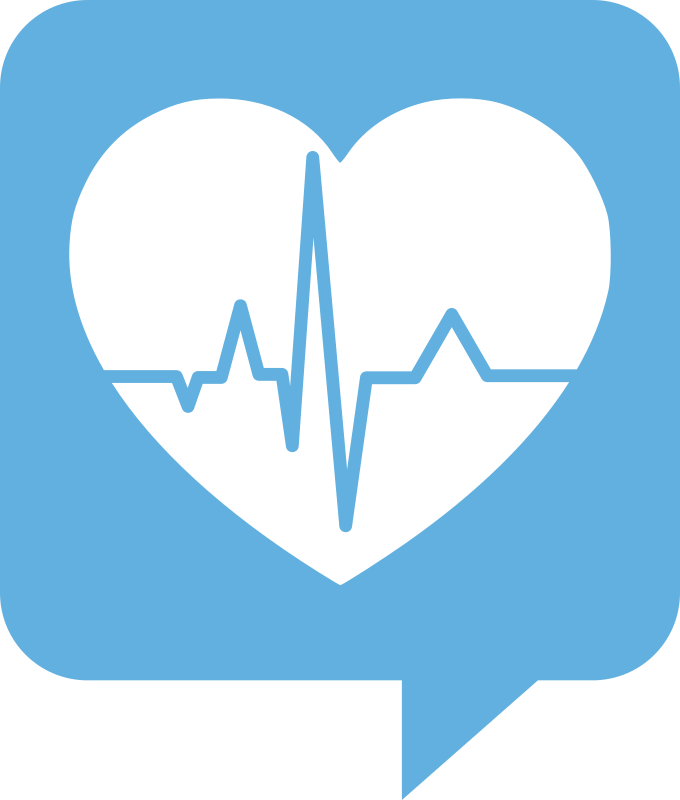 Heart with heartbeat clipart png Clipart - Heartbeat Logo for Health.SE. No background. White heart png