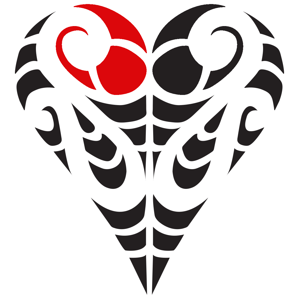 Clipart heart fish hook png royalty free download Understanding Our Logo - Te Mana Skincare png royalty free download
