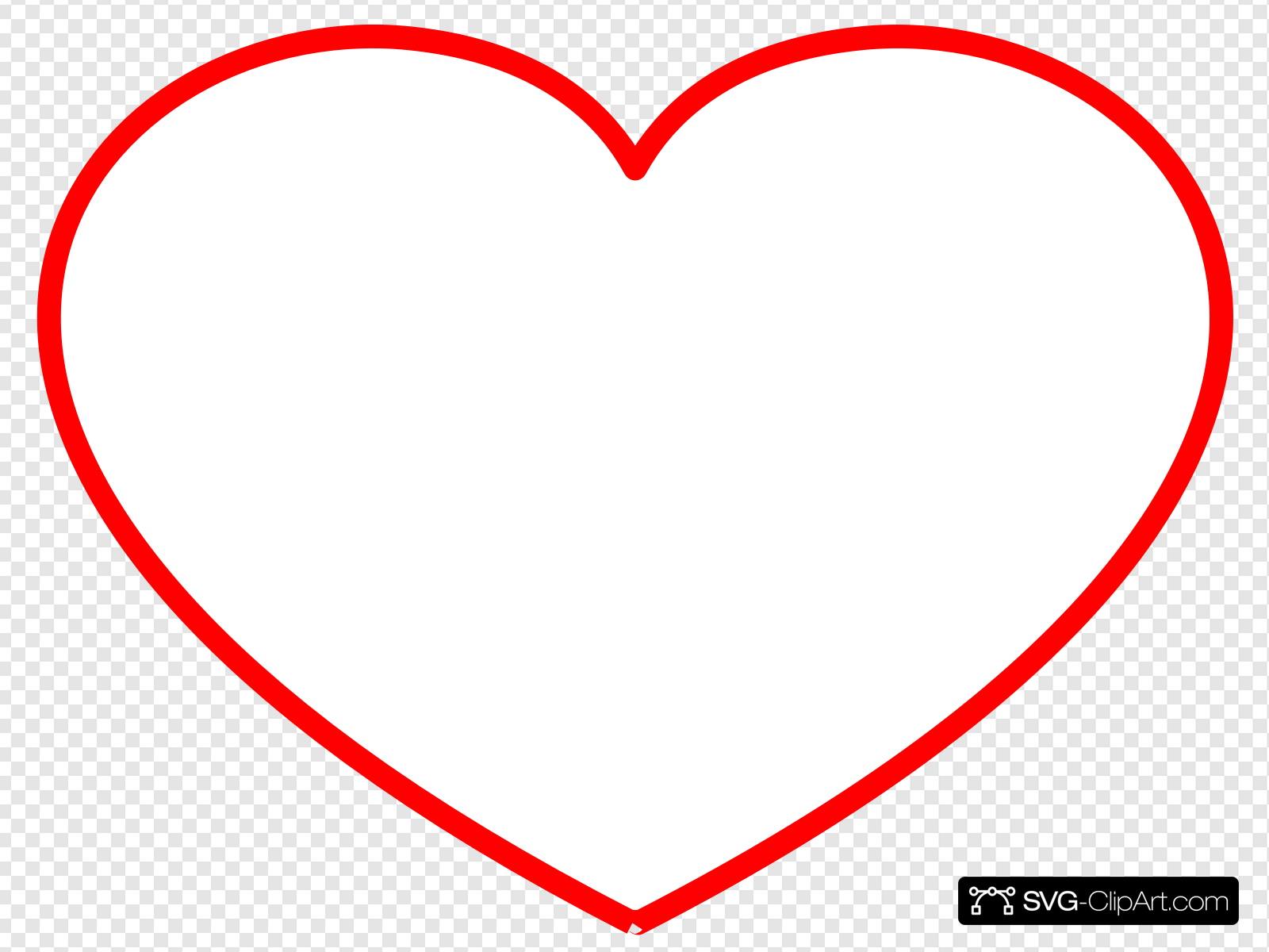 Clipart heart frame png freeuse Heart Frame New Red Clip art, Icon and SVG - SVG Clipart png freeuse