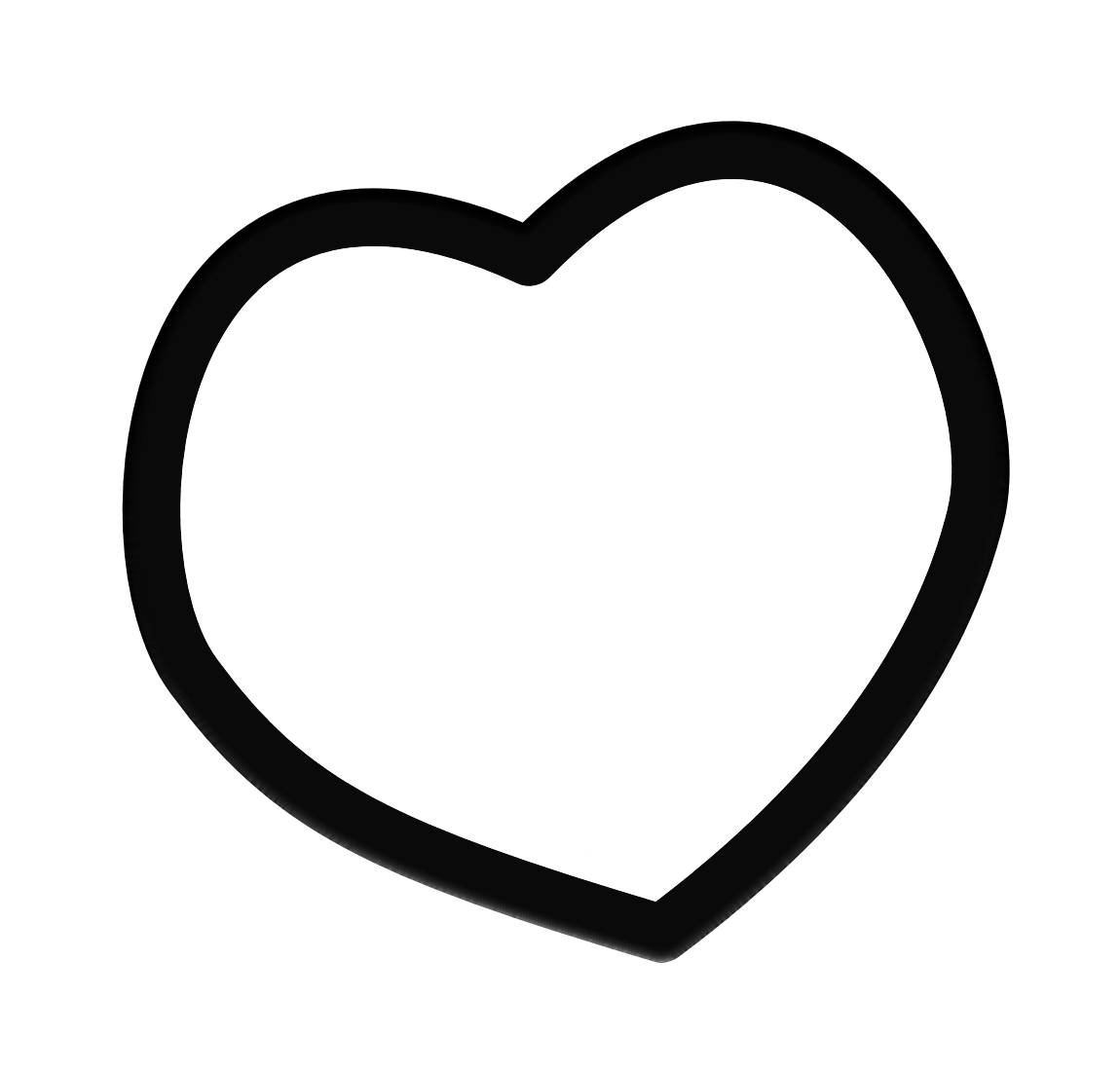 Love heart clipart black and white banner black and white stock Heart Frame Clip Art Black And White | Clipart Panda - Free Clipart ... banner black and white stock