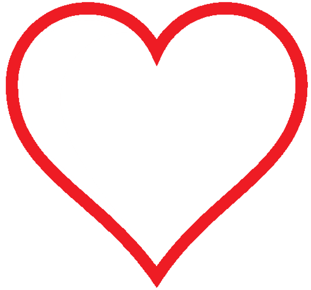 Clipart heart icon clipart library library Clip Art: heart icon red hollow valentine SVG - ClipArt Best ... clipart library library
