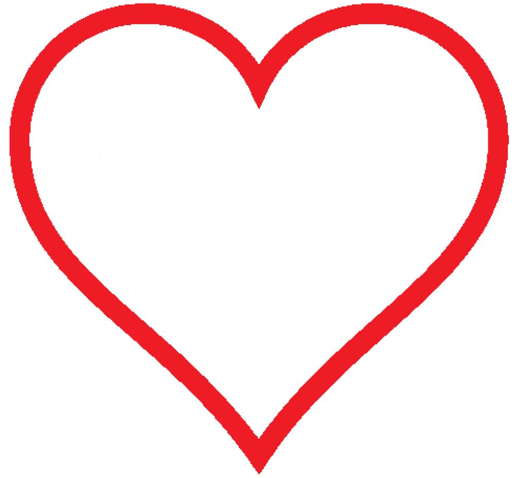 Clipart heart icon