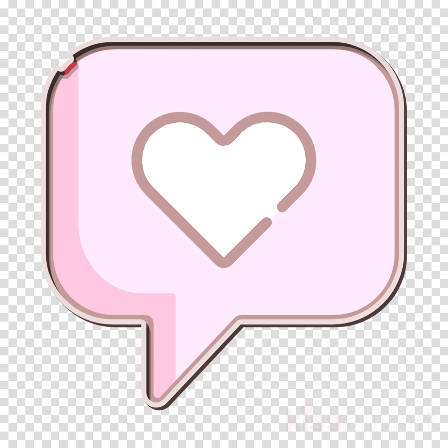 Clipart heart icon clip black and white download Heart icon Love icon clipart - Heart, Pink, Love, transparent clip art clip black and white download