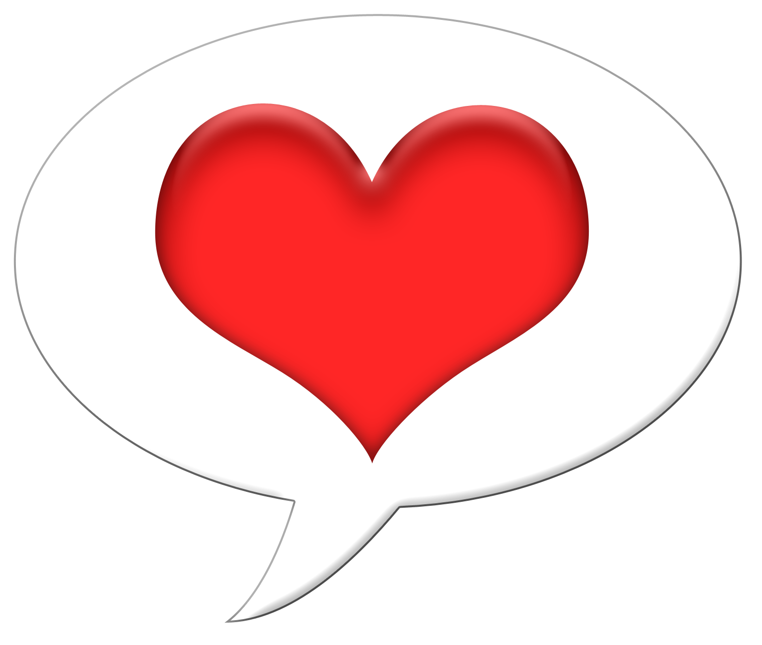 Heart with stitches clipart vector library Clipart heart outline talk vector library