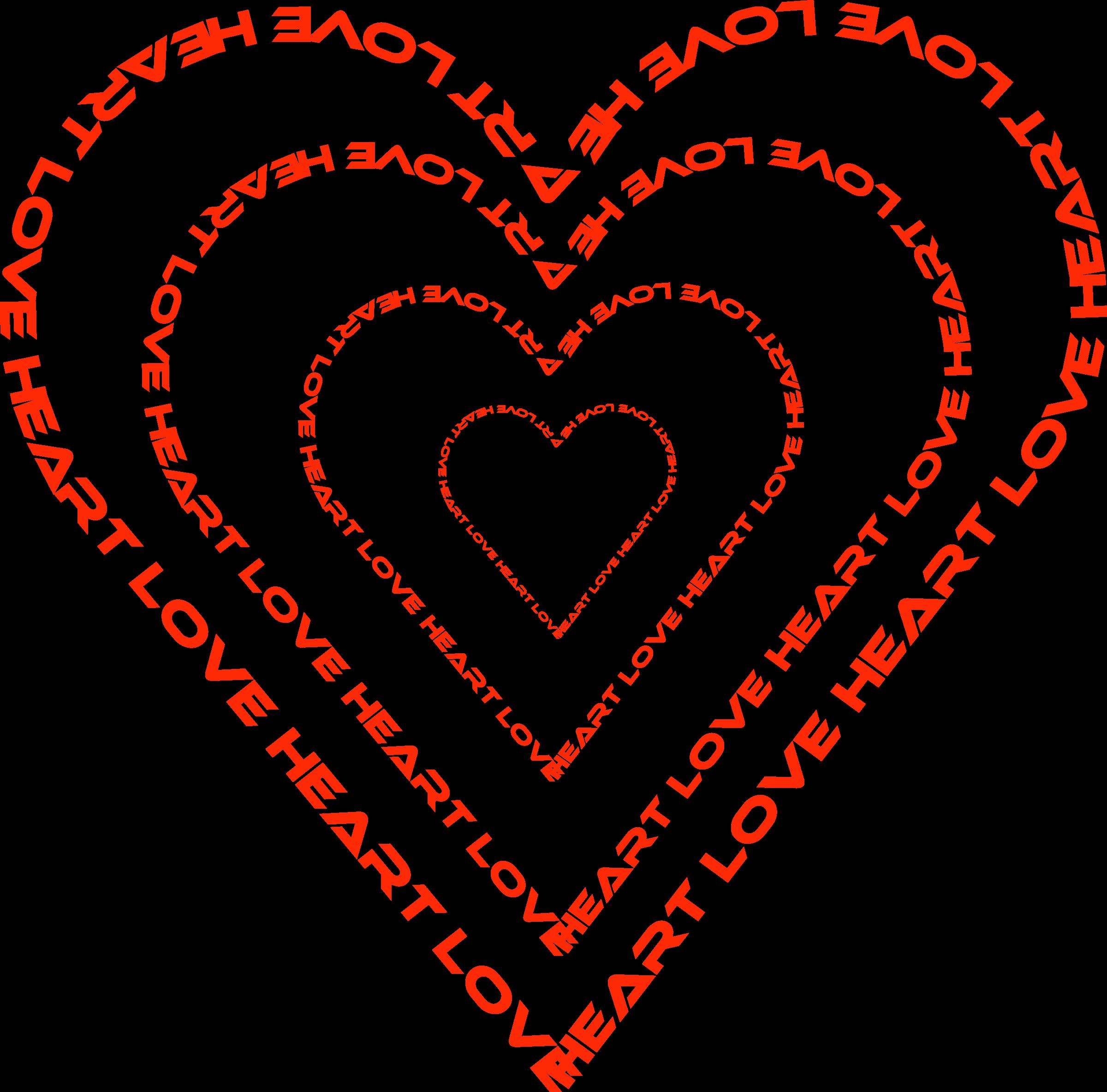 Clipart heart outline talk clipart stock Clipart - A Heart done by words outline clipart stock