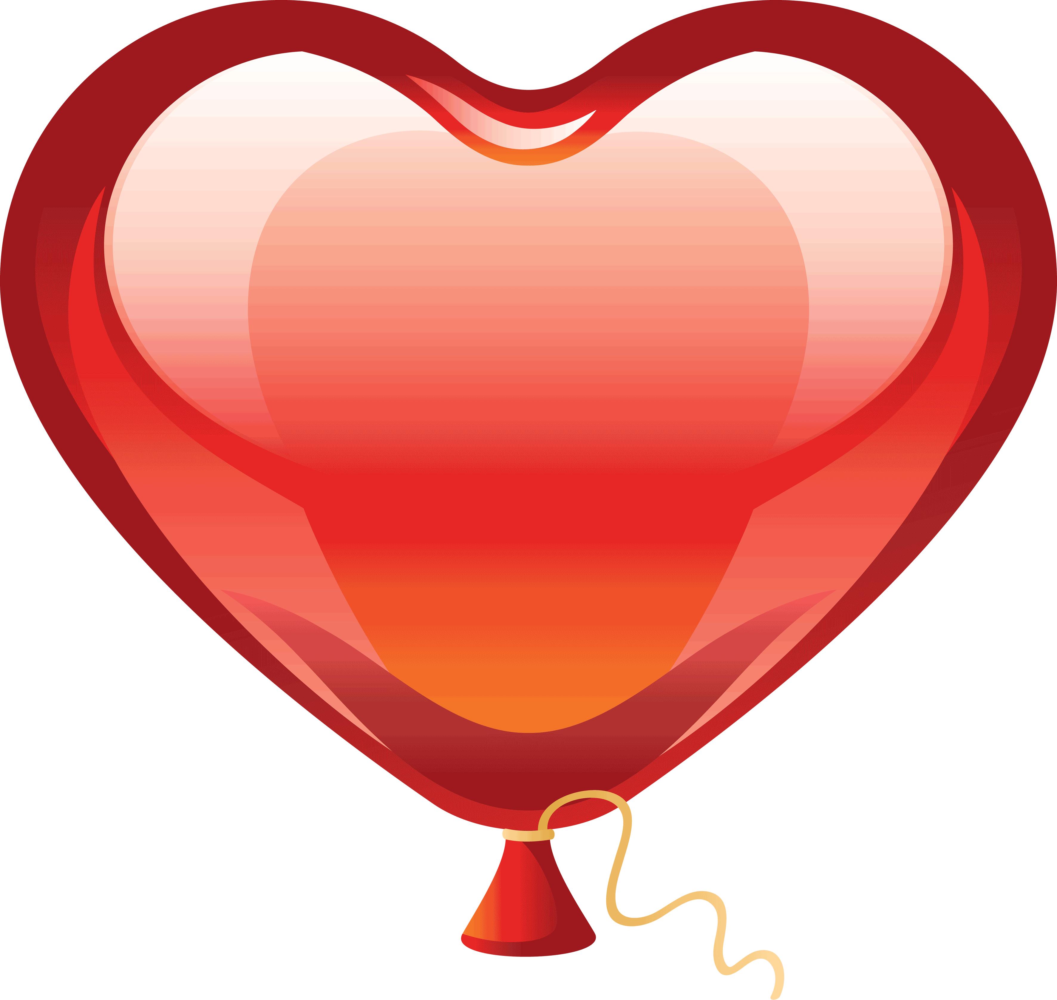 Heart balloon clipart svg royalty free stock Heart Png Clipart Balloon svg royalty free stock