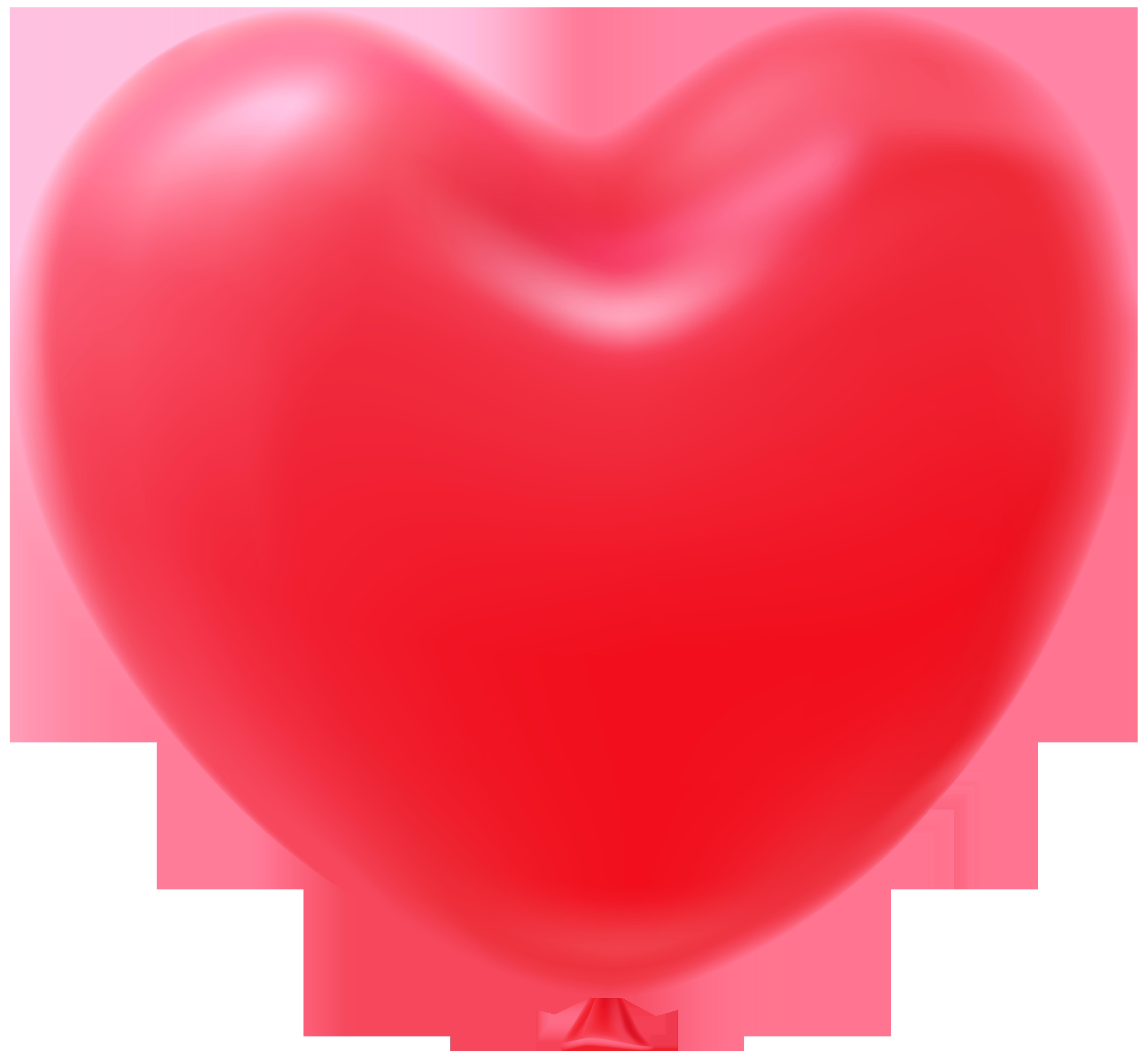 Clipart heart shape jpg royalty free stock Heart Shape Balloon Red Transparent Clip Art Image | Gallery ... jpg royalty free stock