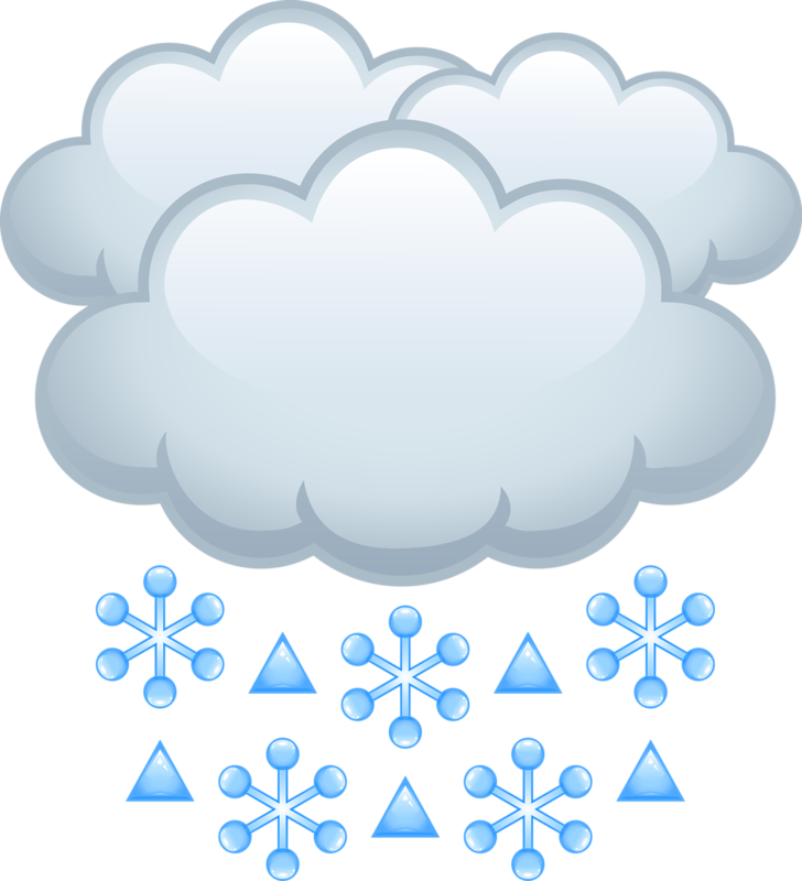 Snowflake cloud clipart vector royalty free library Cartoon Cloud Clip art - Snow cloud 728*800 transprent Png Free ... vector royalty free library