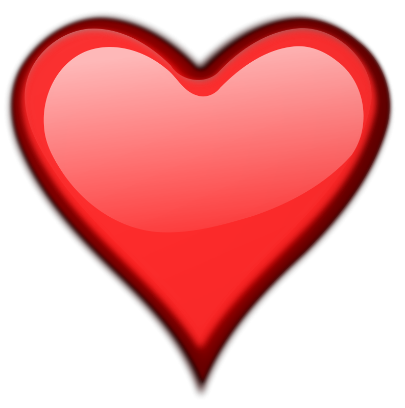 Clipart heart transparent background clipart royalty free download Heart   Free Stock Photo   Illustration of a red heart isolated on a ... clipart royalty free download