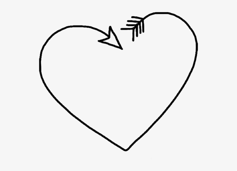 Corazones clipart tumblr svg transparent library Corazón Png Black Tumblr White Heart - Corazon Png - Free ... svg transparent library