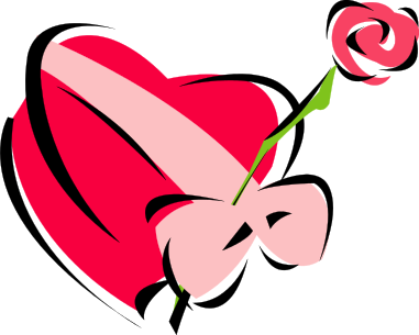 Clipart hearts and roses. Clip art dbclipart com