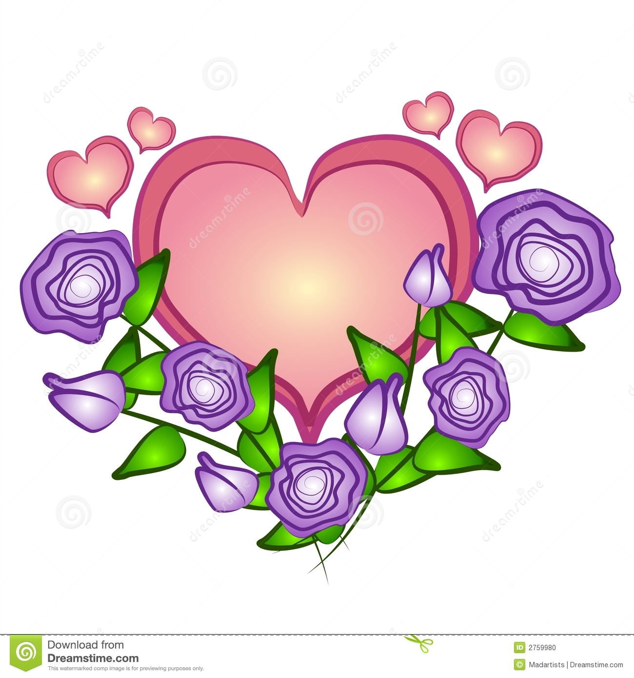Clipartfest pink heart clip. Clipart hearts and roses
