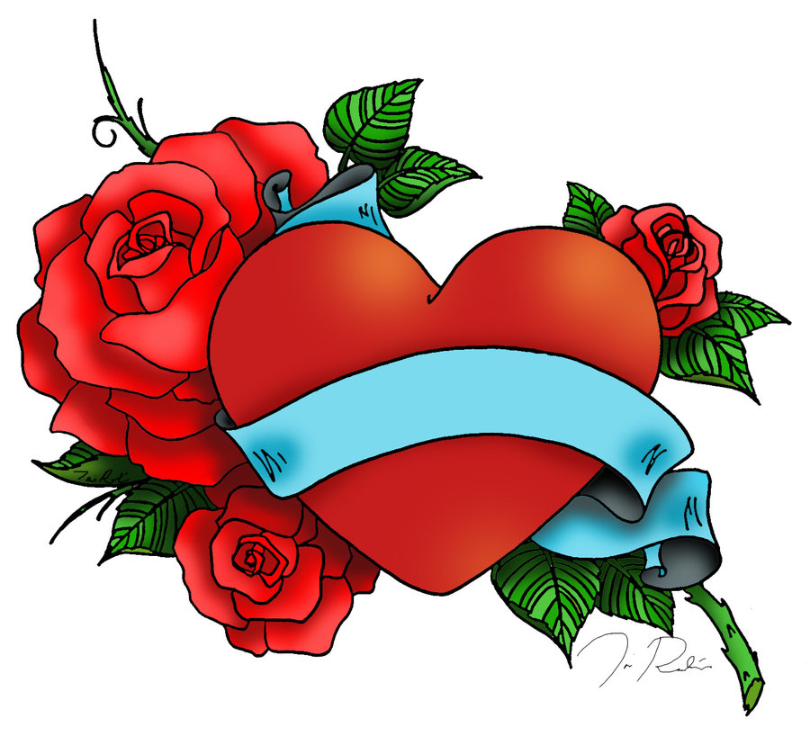 Clipart hearts and roses banner freeuse Roses Cartoon | Free Download Clip Art | Free Clip Art | on ... banner freeuse