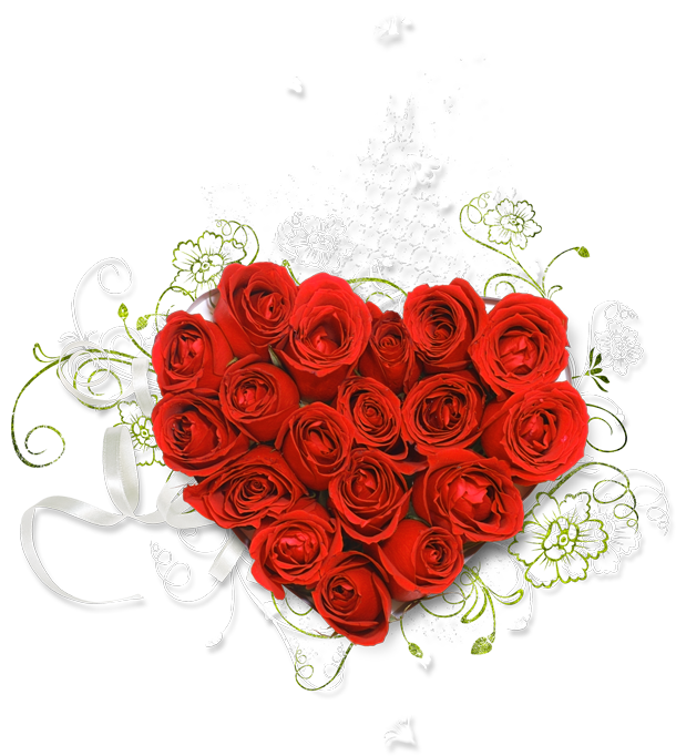 Clipart hearts and roses graphic royalty free library Red_Heart_Bouquet_of_Roses_Clipart.png?m=1373234400 graphic royalty free library