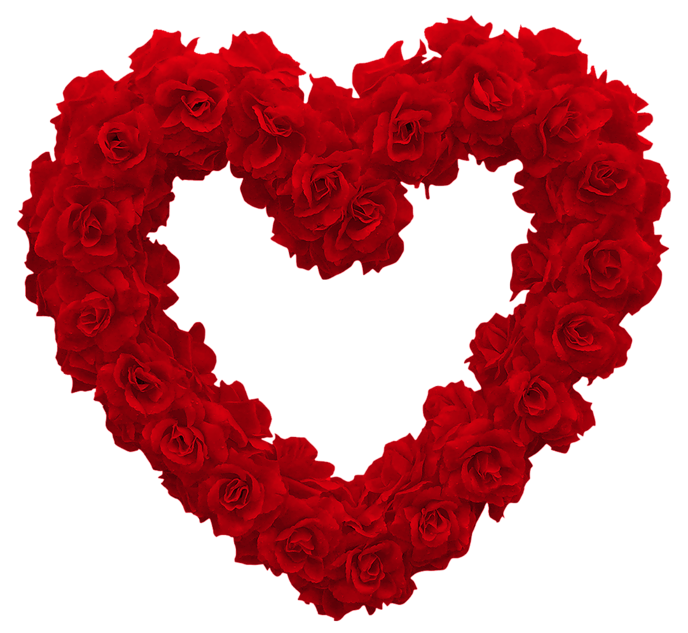 Heart clipart with transparent background png download Hearts and roses clipart - ClipartFest png download