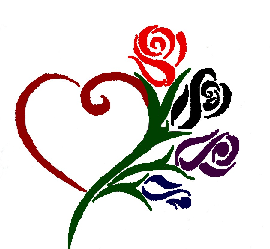 Heart free download clip. Clipart hearts and roses