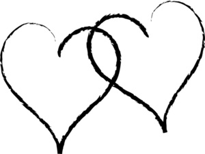 Clipart hearts black and white image stock Heart Black And White Clipart & Heart Black And White Clip Art ... image stock