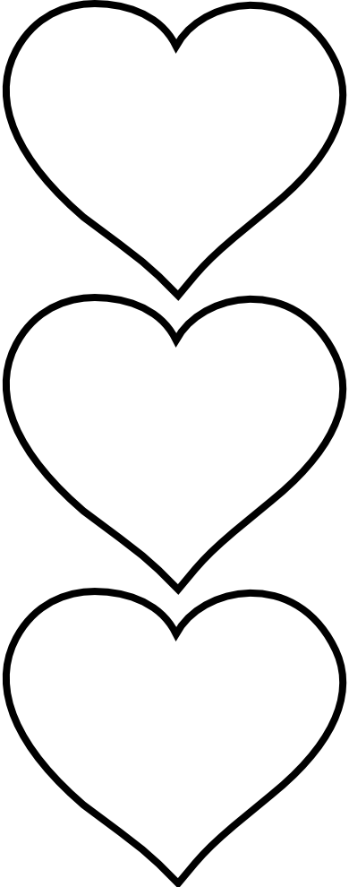 Black and white snowflake hearts clipart free clip free library Free black and white heart clipart - ClipartFest clip free library