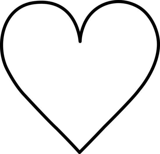 Clipart hearts black and white banner library library Heart Black And White Clipart - Clipart Kid banner library library