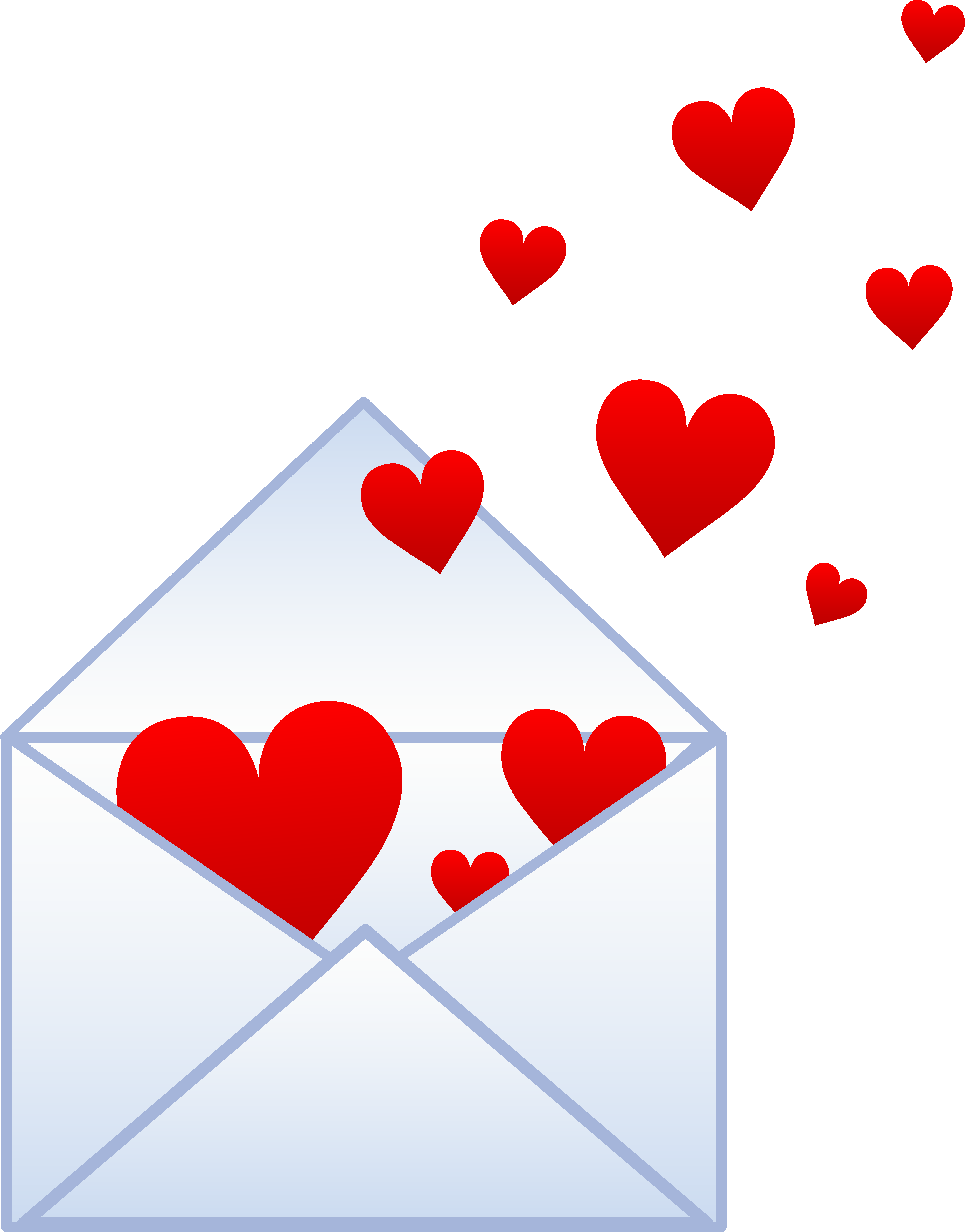 Clipart hearts free graphic transparent library Free Pictures Hearts | Letter With Hearts Flying Out - Free Clip Art ... graphic transparent library