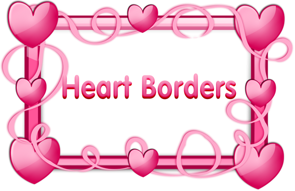 Clipart hearts free clip royalty free Free clipart heart border - ClipartFest clip royalty free