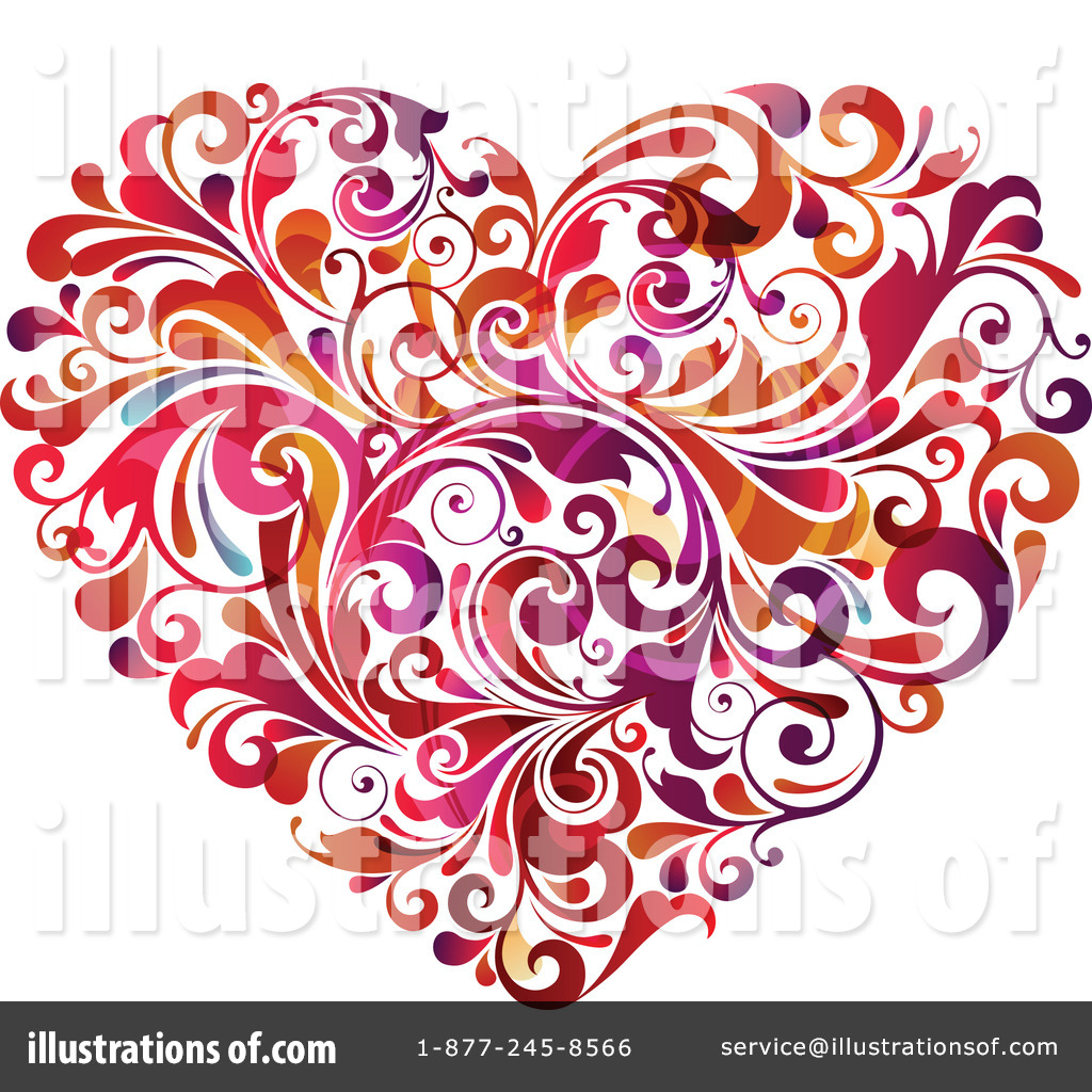Clipart hearts free banner royalty free library Heart image clipart free - ClipartFest banner royalty free library