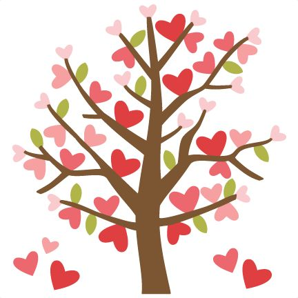 Clipart hearts in tree.  best ideas about