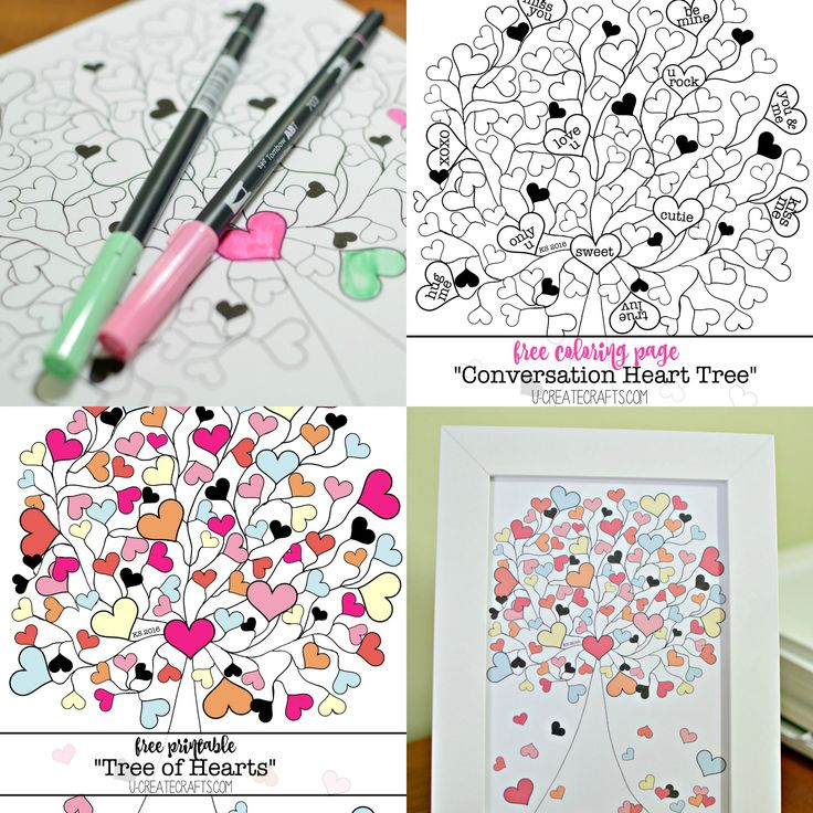 Clipart hearts in tree png transparent download 17 Best ideas about Heart Tree on Pinterest | January crafts ... png transparent download