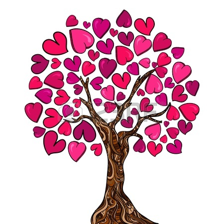 Clipart hearts in tree picture Heart Family Tree Clip Art | Clipart Panda - Free Clipart Images picture