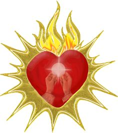 Clipart hearts jesus mary. Bead catholic rosary free