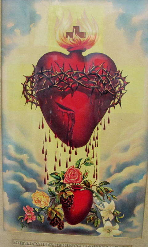 Clipart hearts jesus mary clip free library 17 Best images about Sacred Heart on Pinterest | Lutheran, Art ... clip free library