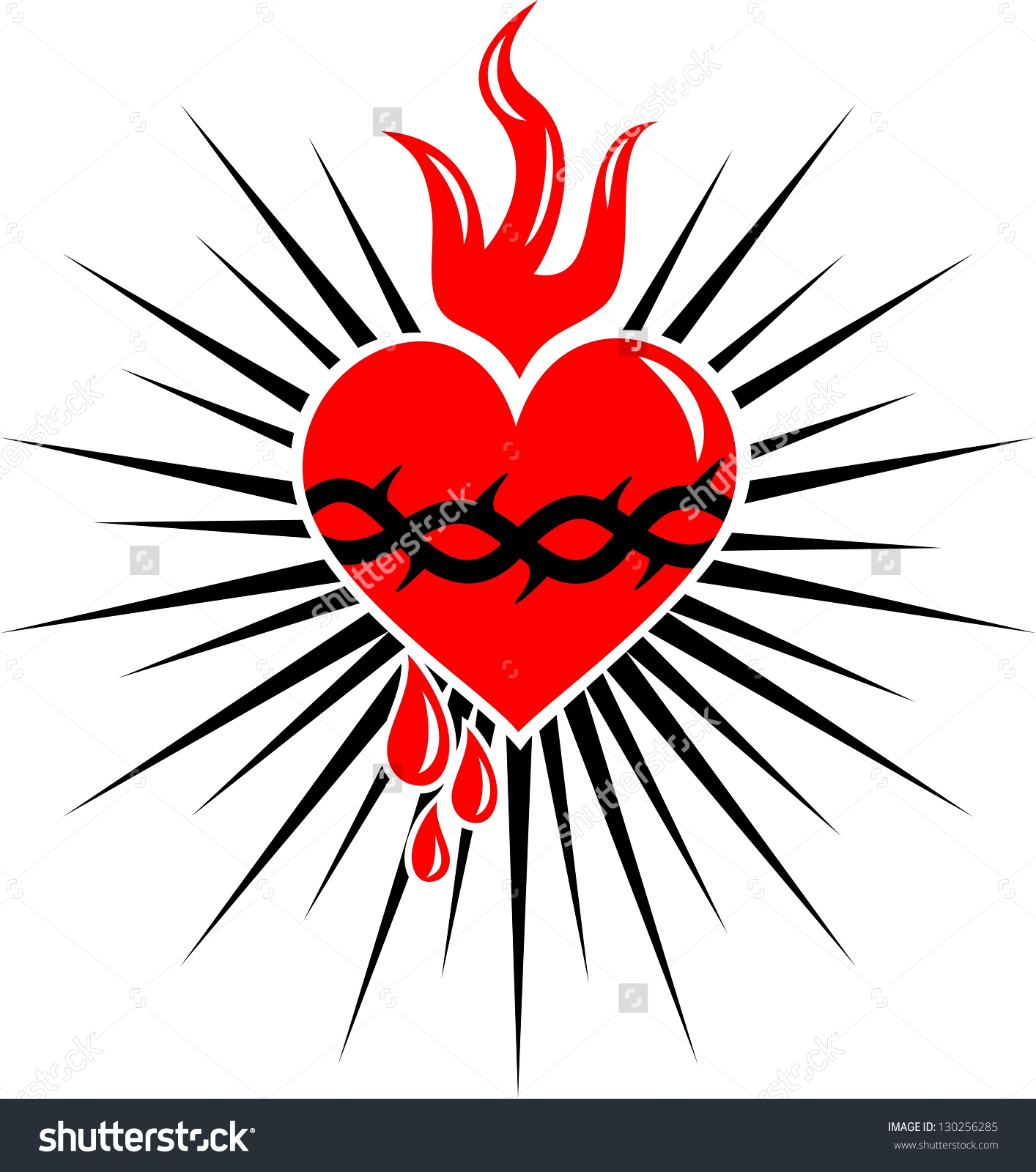 Clipart hearts jesus mary. Clipartfest and save to