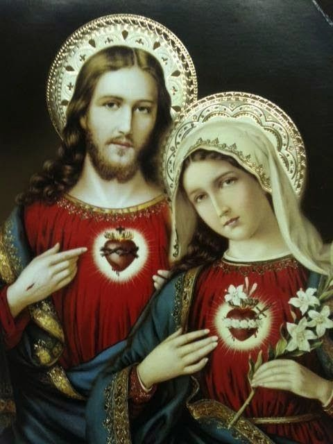 Clipart hearts jesus mary. Sacred heart of and