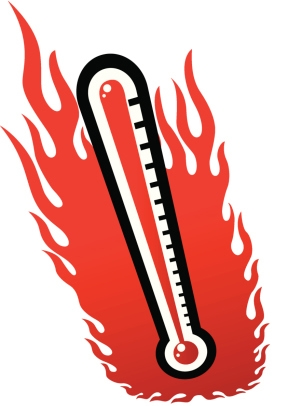 Clipart heat wave