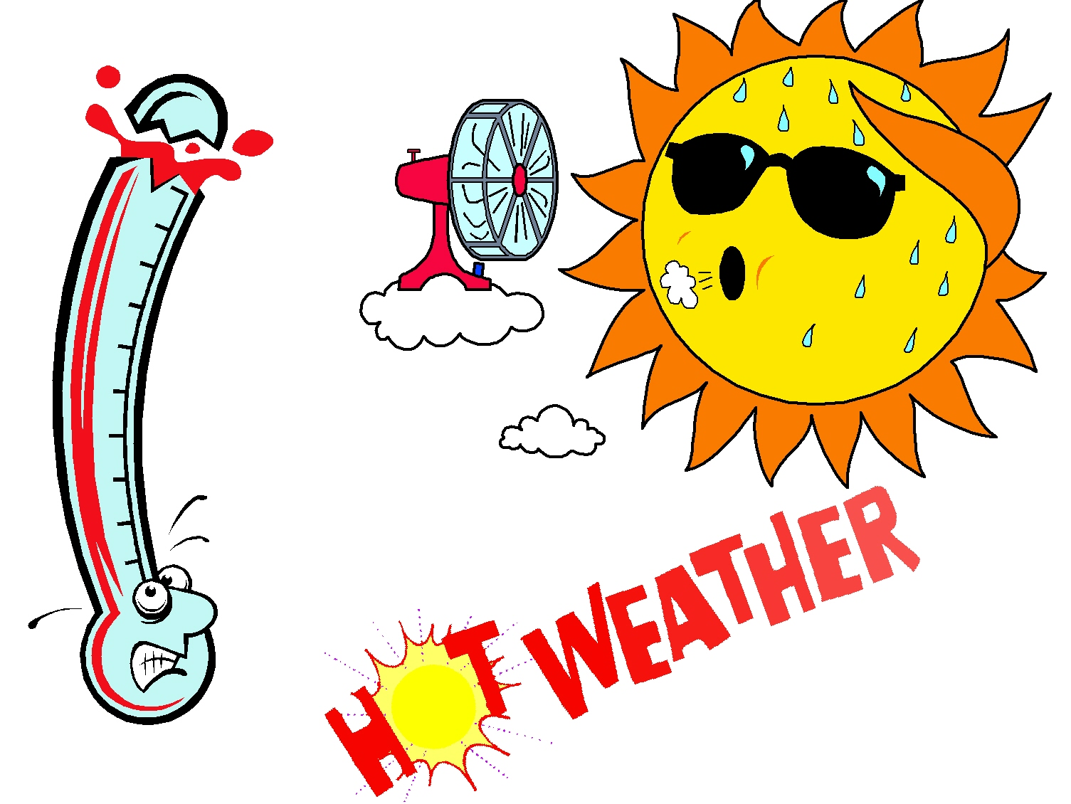 Clipart heat wave image free stock Free Extreme Heat Cliparts, Download Free Clip Art, Free Clip Art on ... image free stock