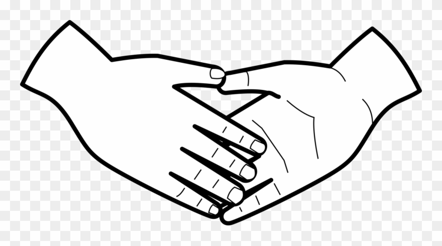 Clipart helping hands jpg library stock Handshake Hands Computer Icons - Helping Hands Clip Art Black And ... jpg library stock