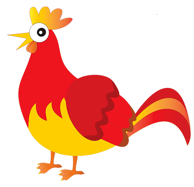 Clipart hen house banner free download The Little Red Hen banner free download
