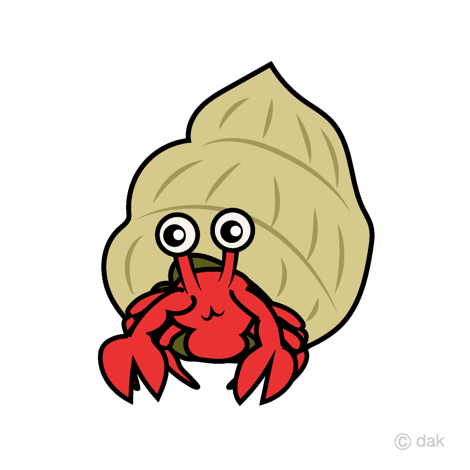 Clipart hermit crab png freeuse stock Hermit crab Clipart Free Picture|Illustoon png freeuse stock