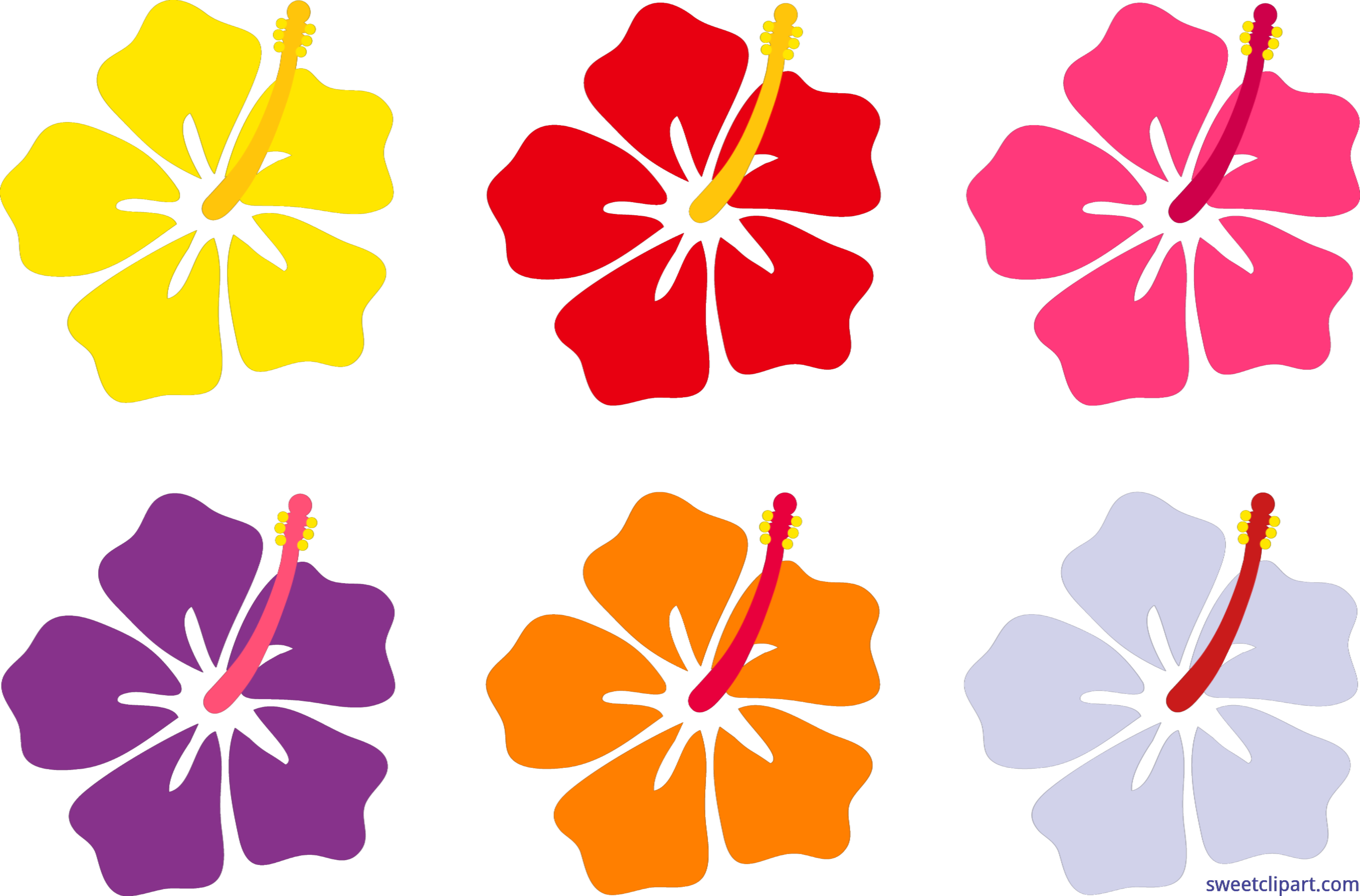 Hawaiian flower clipart png graphic library Hawaiian hibiscus Flower Hawaiian hibiscus Clip art - hibiscus 8230 ... graphic library
