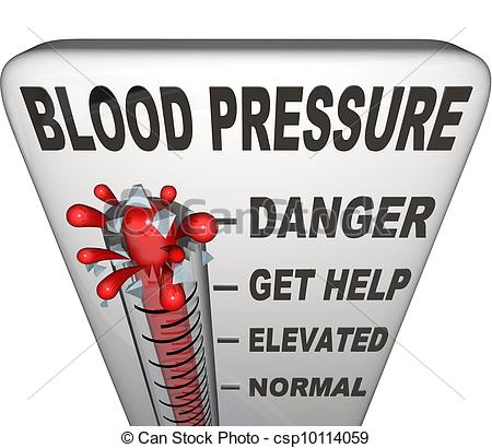 Clipart high blood pressure image black and white Elevated Blood Pressure Clipart - Clipart Kid image black and white