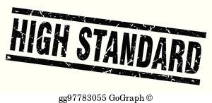 Clipart high standards clip freeuse High Standards Clip Art - Royalty Free - GoGraph clip freeuse