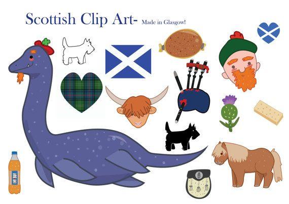 Clipart highlands clip art freeuse Scotland Clipart Scottish clip art loch ness by LittleRagdollCat ... clip art freeuse